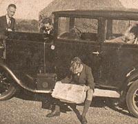 A classic Rover 12 car