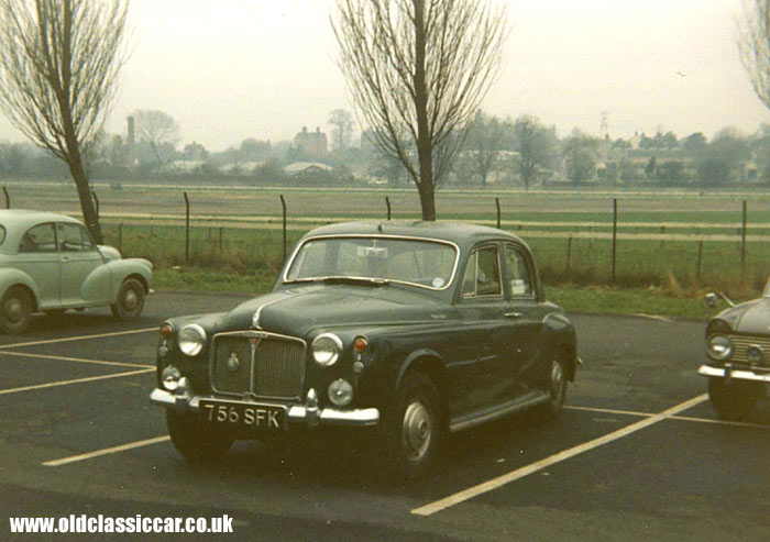 Another Rover P4 car