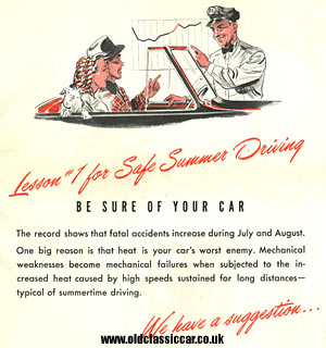 Safe summer driving
