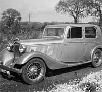 British Salmson saloon