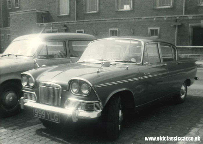 Early Mk1 Humber Sceptre car