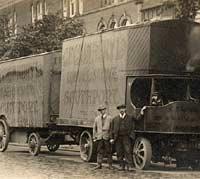 A Sentinel steam lorry