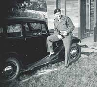 A Series 2 Morris Eigtht a chap from the Army