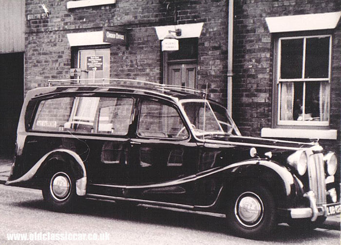 An Austin A125 Sheerline hearse