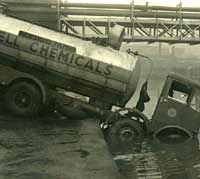 An AEC Tanker used by Shell Chemicals