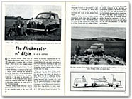 Austin A35 van featured in Sidelights magazine
