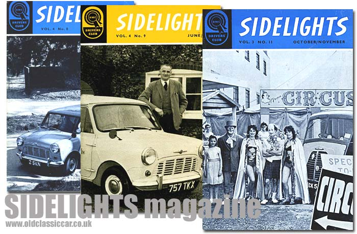 Sidelights, the BMC Drivers' Club official magazine