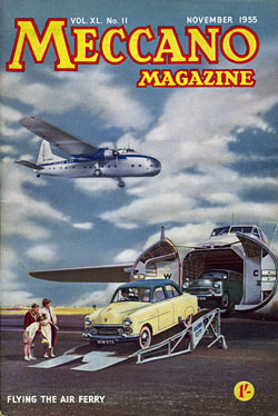 Silver City aircraft on a magazine cover
