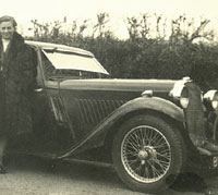A Singer 9 Coupe