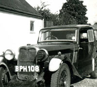 1934 Singer Coupe