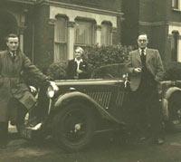 A 1934 Singer Le Mans sportscar