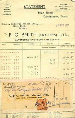 Smith Motors Ltd, garage in Essex