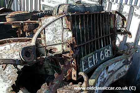The worlds rustiest ex-WW2 Dodge, fortunately NOT one of mine!