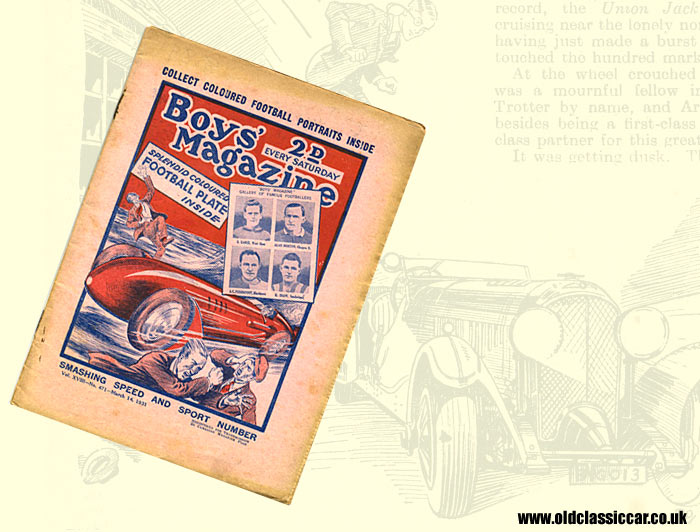Story about a land speed record attempt in the 1930s