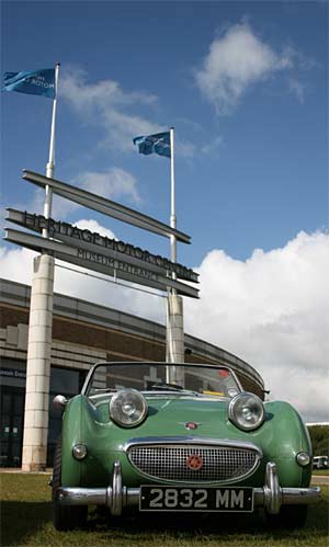 A-H Spridget at Gaydon