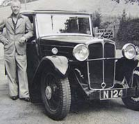 Coachbuilt Standard 16 sports saloon