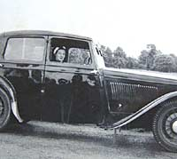 Pre-war Standard car