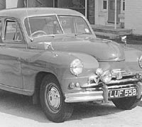 Standard Vanguard Phase 1a saloon car