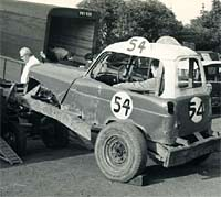 Historic stock car