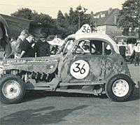 Stock car #36