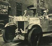 Vintage Stoneleigh motor-car