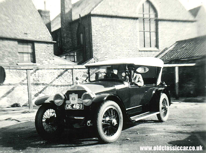 The American-entered Stutz Bulldog of 1919