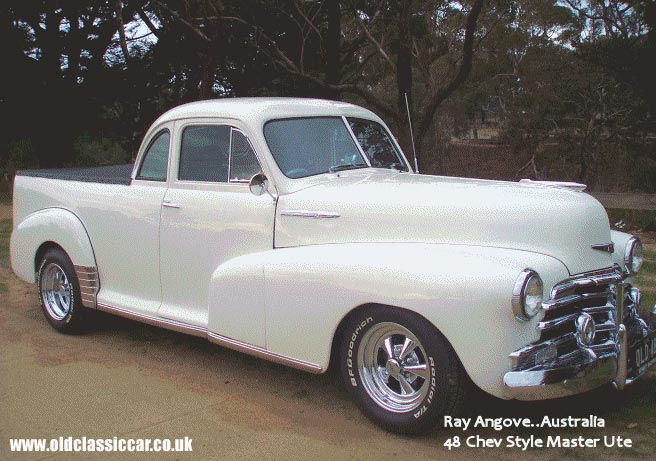 A look at Ray's restored Chevy Ute