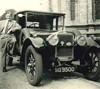 Sunbeam 14/40 tourer from 1924