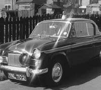 Sunbeam Rapier Police car
