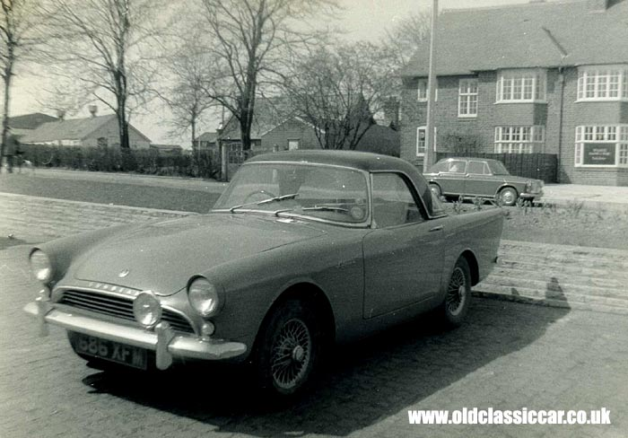 Sunbeam Alpine with hardtop