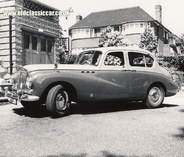 Original Sunbeam Talbot car photograph