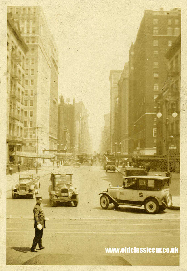 American taxis in the 1920s
