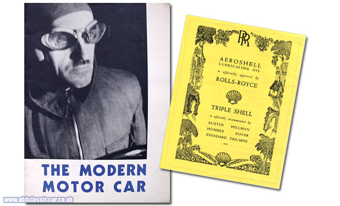 Cover of The Modern Motor Car