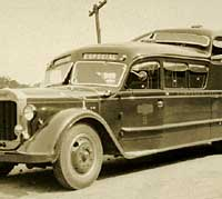 1933 Thornycroft bus in Brazil