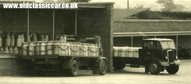 Two more Thornycroft trucks