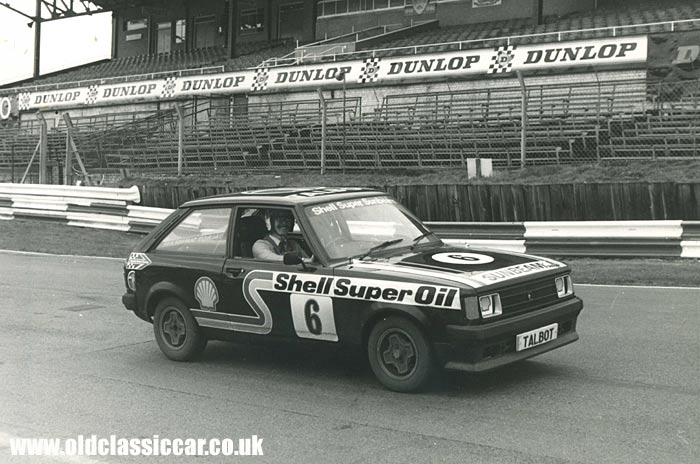 Sunbeam Ti at Brands Hatch
