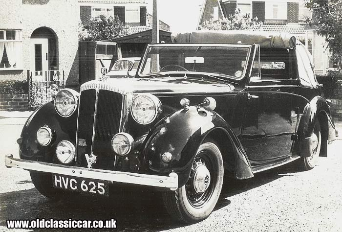 A Daimler DB with Tickford coachwork
