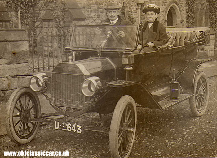 Model T Ford - the tin lizzie
