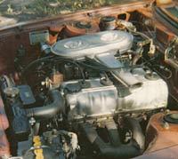 Toyota's 2T-B 1600 cc engine