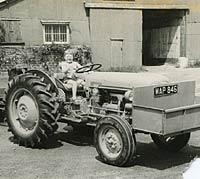 A new Ferguson 35 tractor in 1957