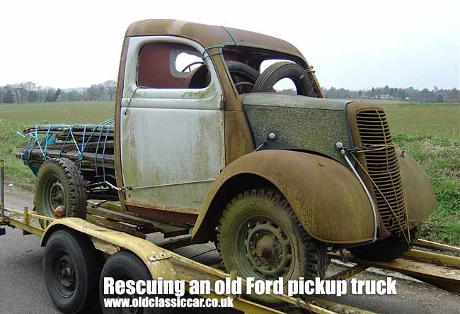 Collecting an old Ford