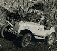 A Ford 1172 trials car