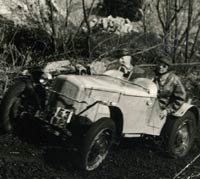Another trials car based on a 1936 Ford
