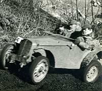 Home-made sports car