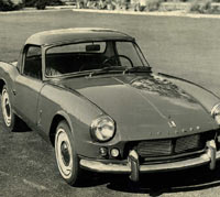 Triumph Spitfire press photograph