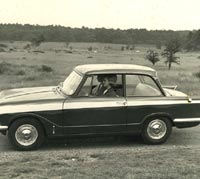 Triumph Vitesse car photograph