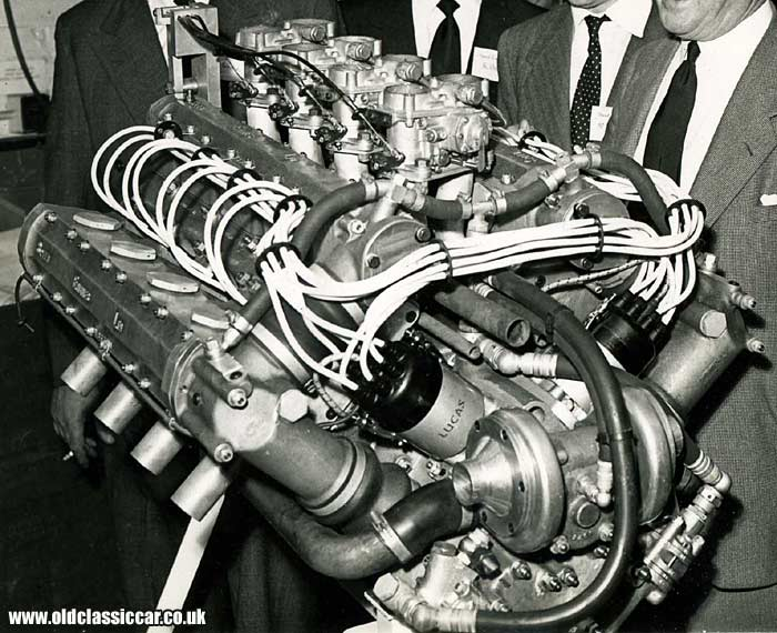 A closer look at the Speed Engines Ltd - SEL - V8