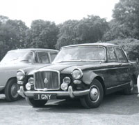 Photo of a Vanden Plas 3 litre