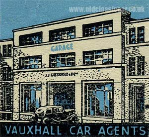 1930s Vauxhall car garage