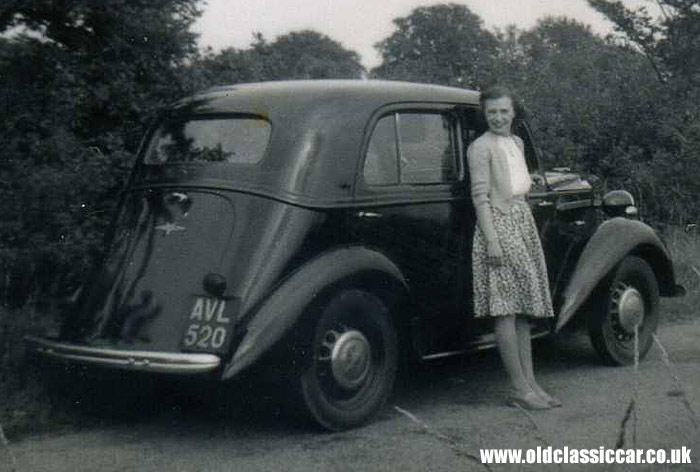 Another pre-war Vauxhall Ten.